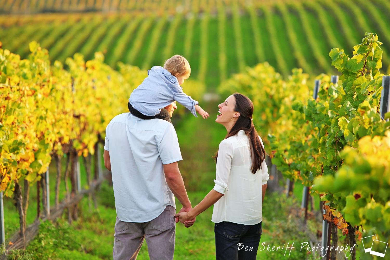 Family Portraits Vineyard