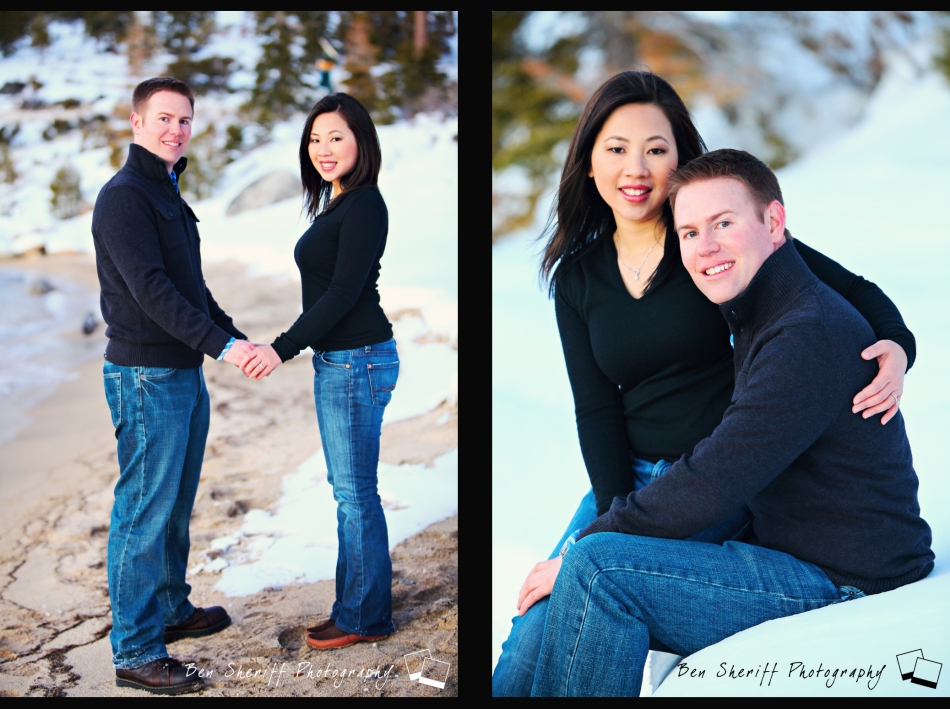 Lake Tahoe Engagement
