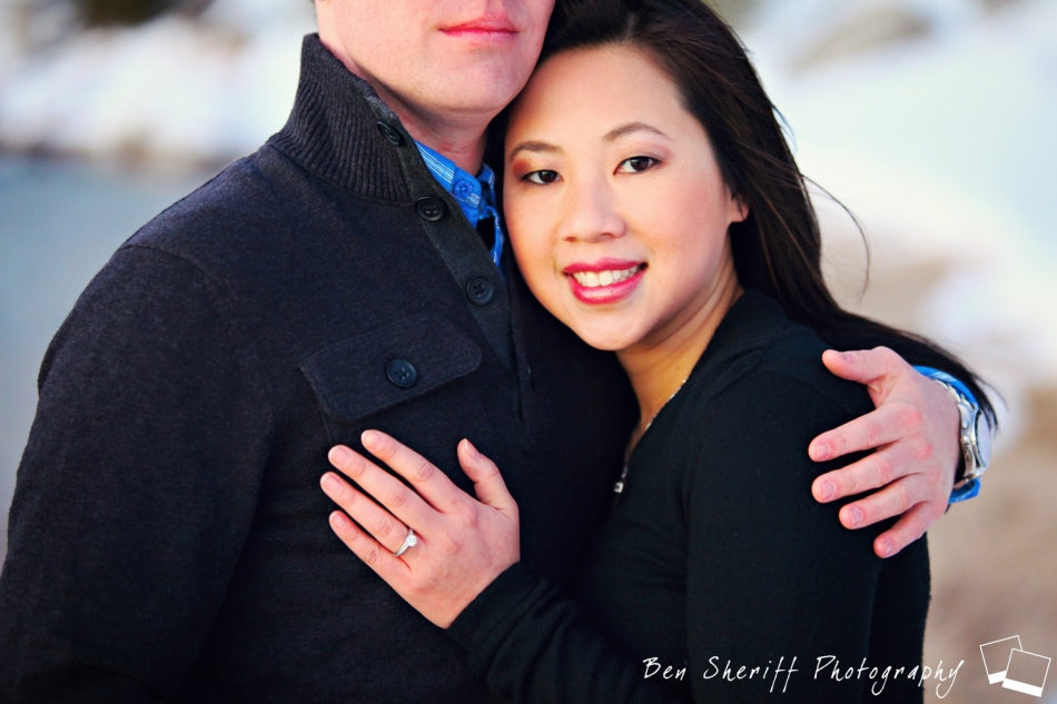 Lake Tahoe Engagement Photography