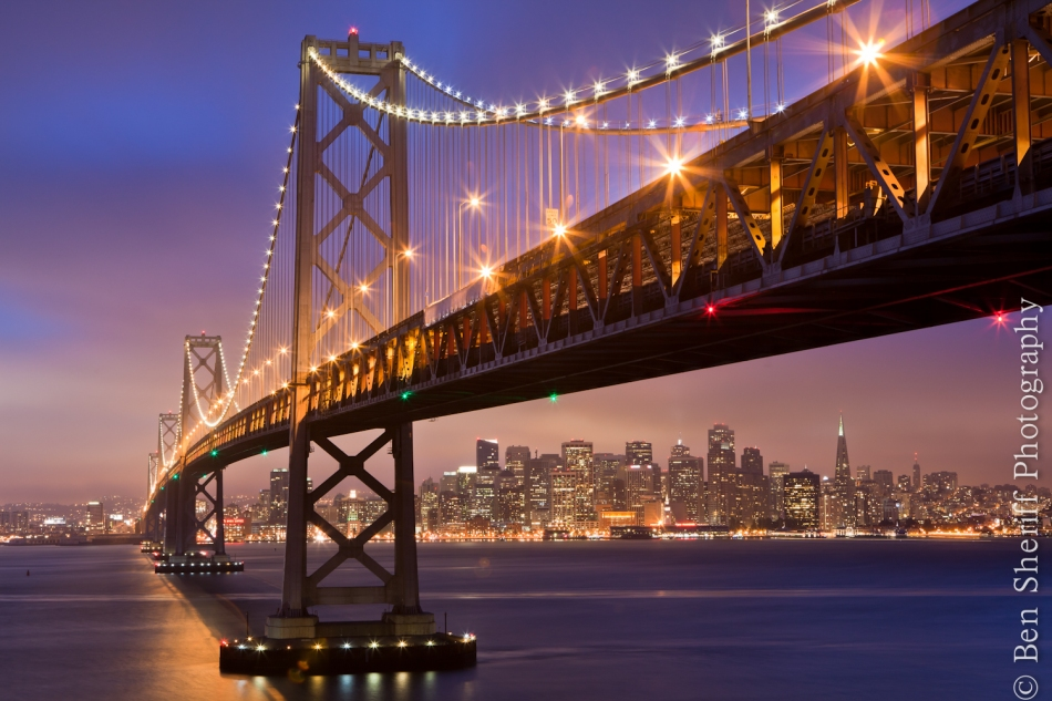 San Francisco Photographer ~ Bay Bridge
